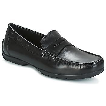 Schoenen Heren Mocassins Geox U MONET W 2FIT Zwart