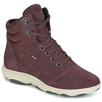Schoenen Dames Hoge sneakers Geox D NEBULA 4 X 4 B ABX Bordeau