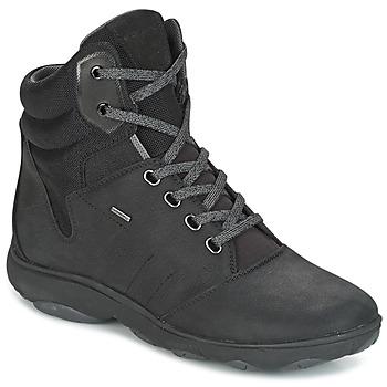 Schoenen Dames Hoge sneakers Geox D NEBULA 4 X 4 B ABX Zwart