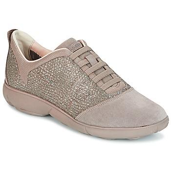 Schoenen Dames Lage sneakers Geox D NEBULA Taupe