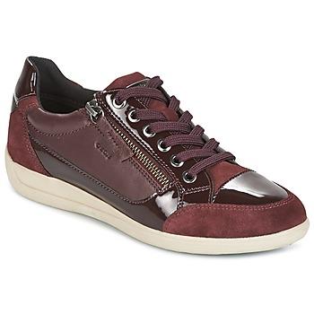 Schoenen Dames Lage sneakers Geox D MYRIA Bordeau