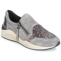 Schoenen Dames Lage sneakers Geox D OMAYA Grijs