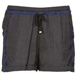Textiel Dames Korte broeken / Bermuda's Naf Naf KAOLOU Zwart