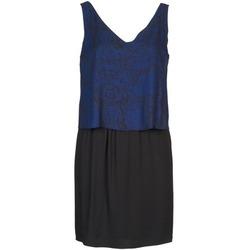 Textiel Dames Korte jurken Naf Naf LORRICE Zwart / Blauw