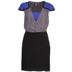 Textiel Dames Korte jurken Naf Naf LYFAN Zwart / Grijs / Blauw