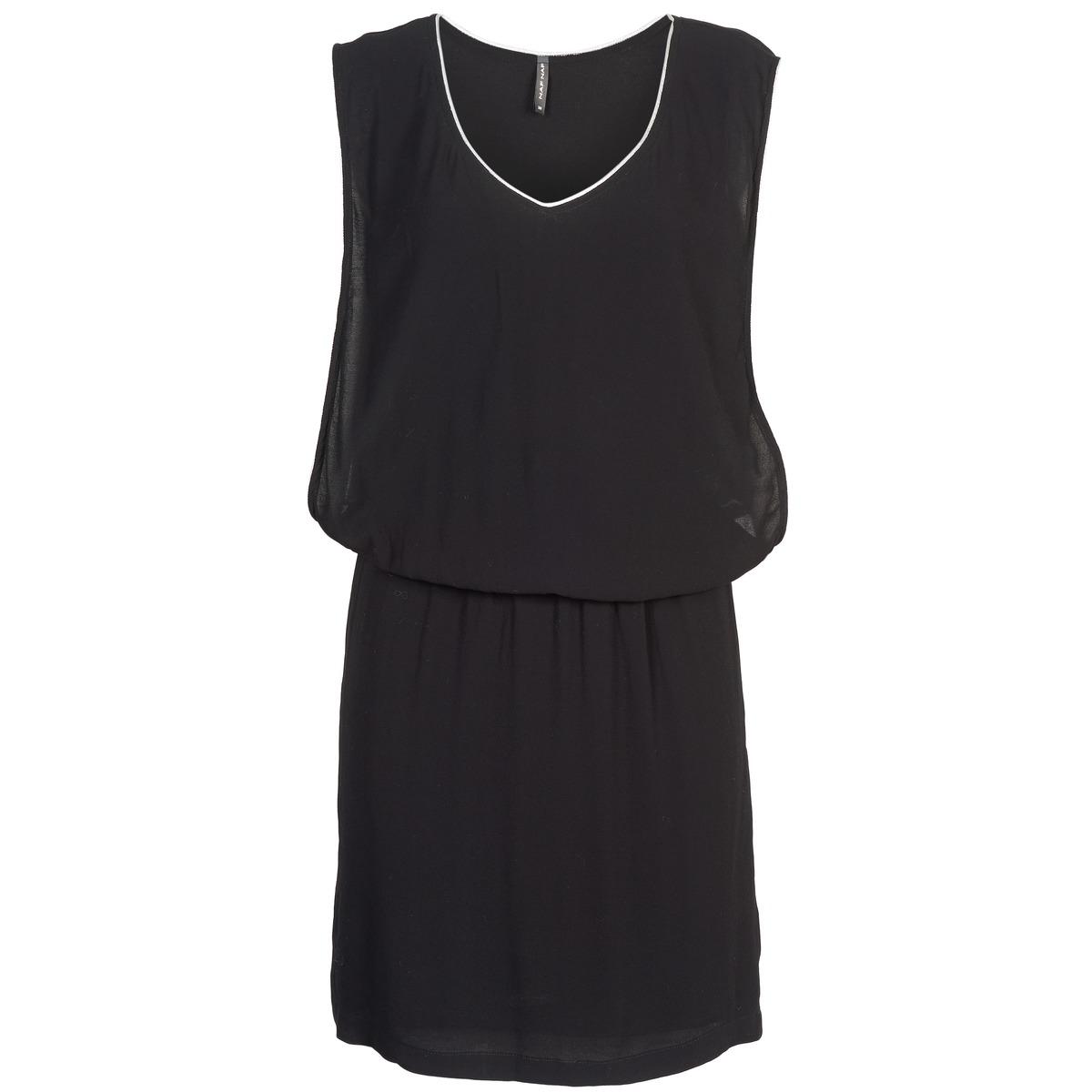 NAF NAF korte jurk lyloma zwart