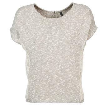 Textiel Dames T-shirts korte mouwen Naf Naf MILLON Grijs