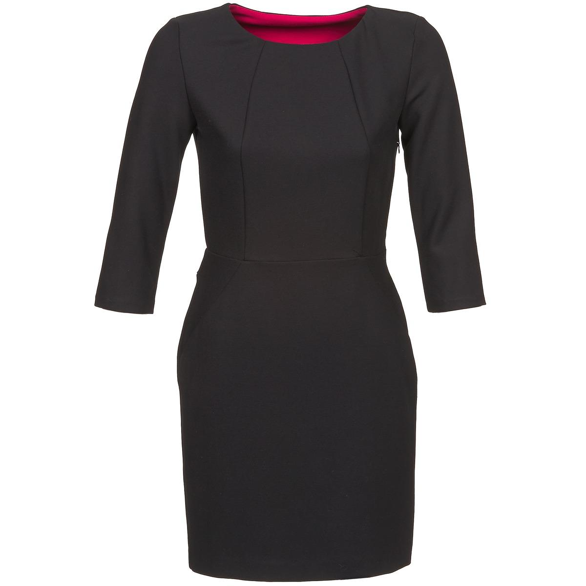 NAF NAF korte jurk eparcie zwart