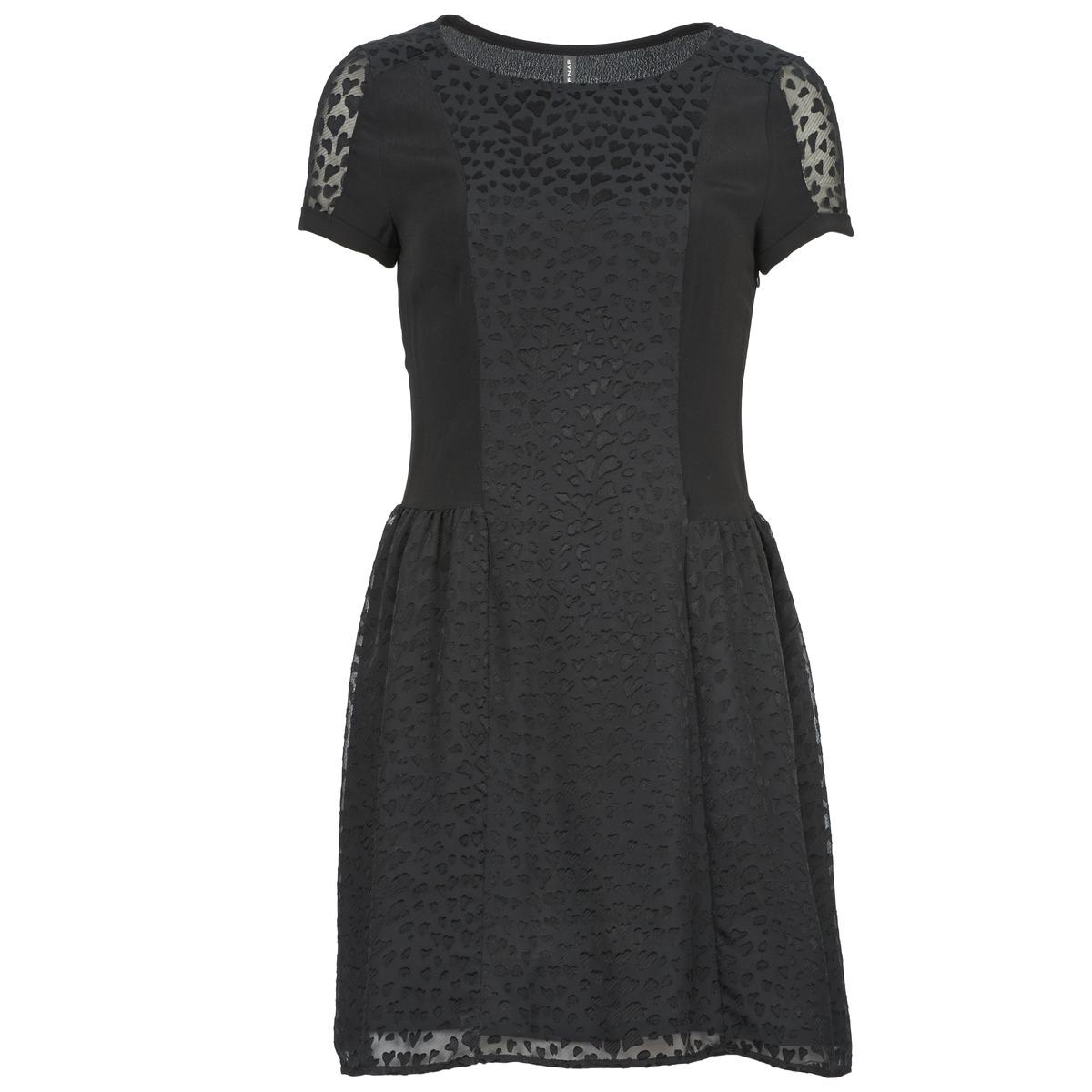 NAF NAF korte jurk keur zwart