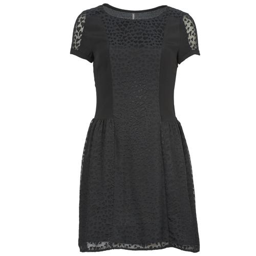 Textiel Dames Korte jurken Naf Naf KEUR Zwart