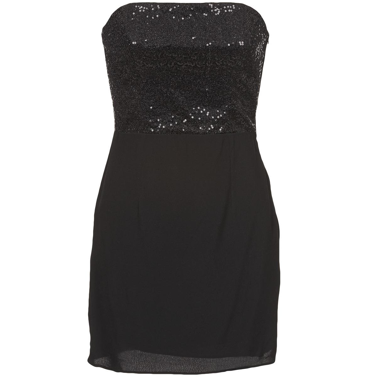 NAF NAF korte jurk lycha zwart