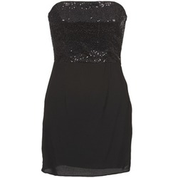 Textiel Dames Korte jurken Naf Naf LYCHA Zwart