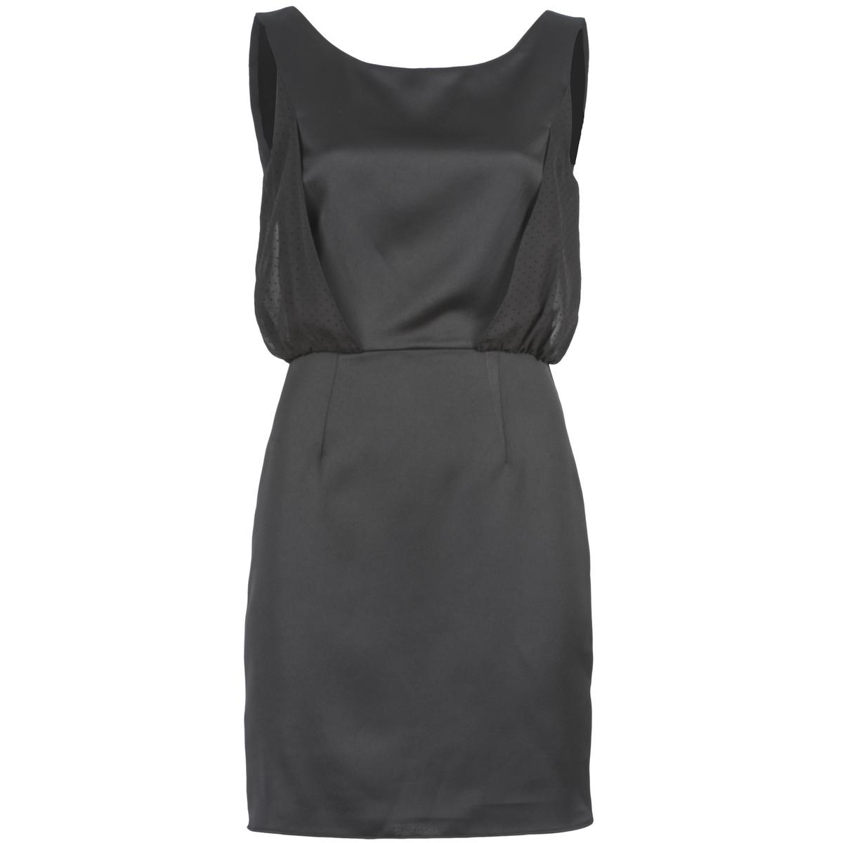 NAF NAF korte jurk lycopine zwart