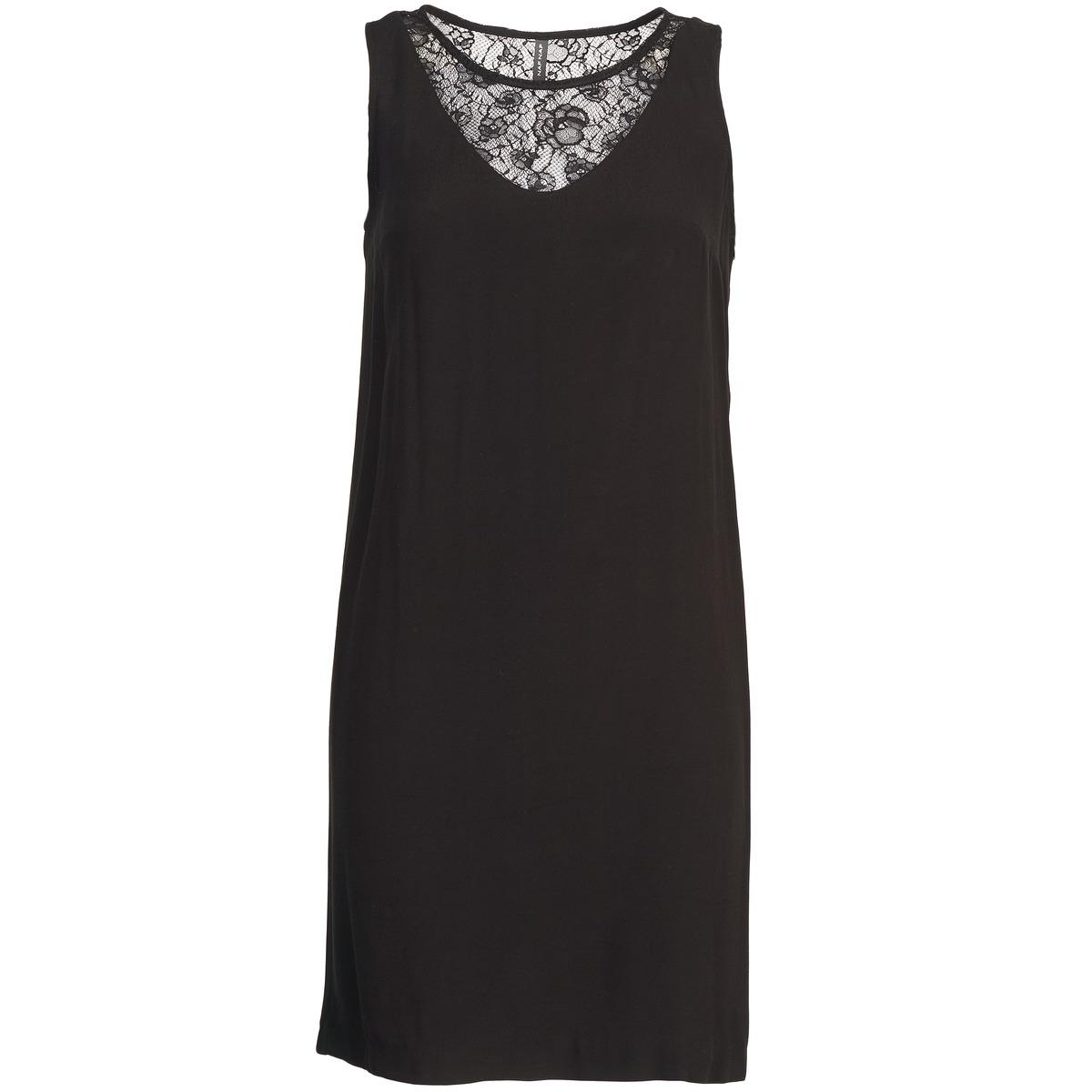 NAF NAF korte jurk lyshow zwart