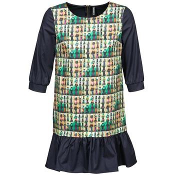 Textiel Dames Korte jurken Naf Naf ECAPS Zwart / Multi