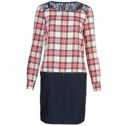 Textiel Dames Korte jurken Naf Naf KLEMS Marine / Rood