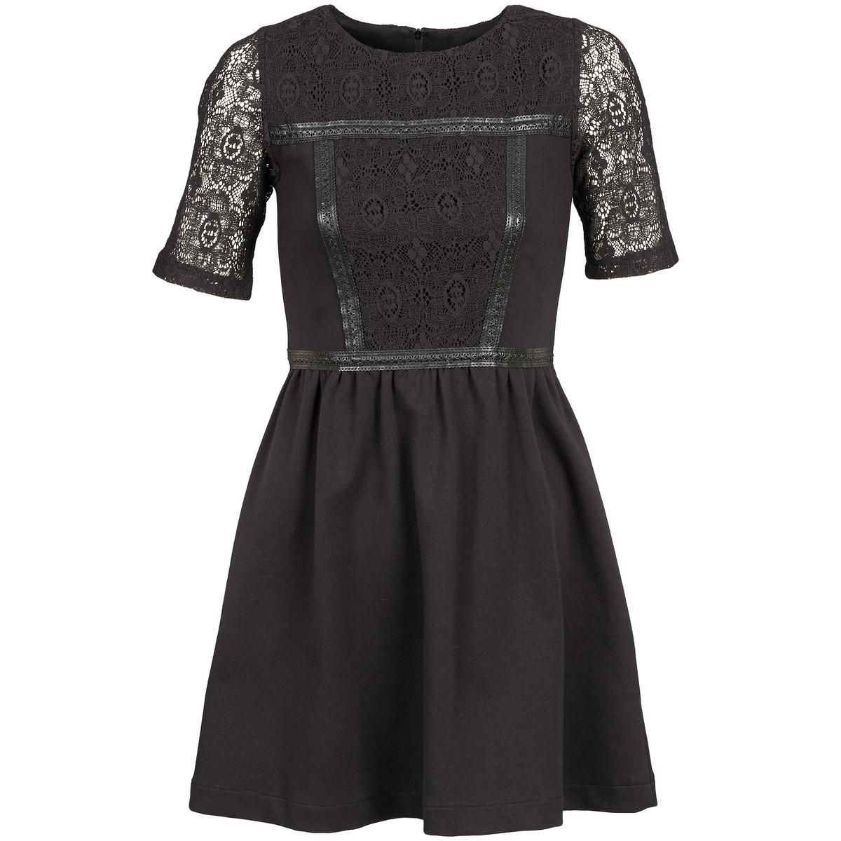 NAF NAF korte jurk obise zwart
