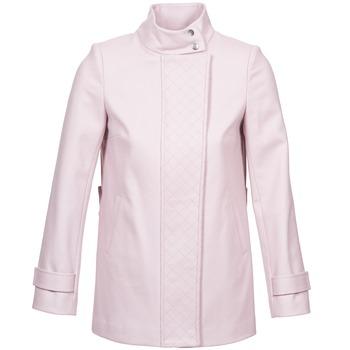 Textiel Dames Mantel jassen Naf Naf ACORA Roze