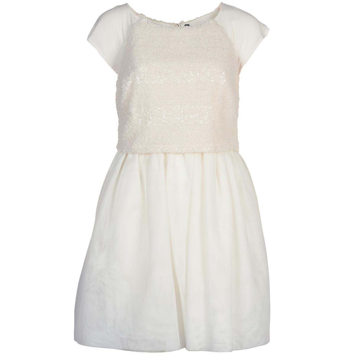 NAF NAF korte jurk lymell wit