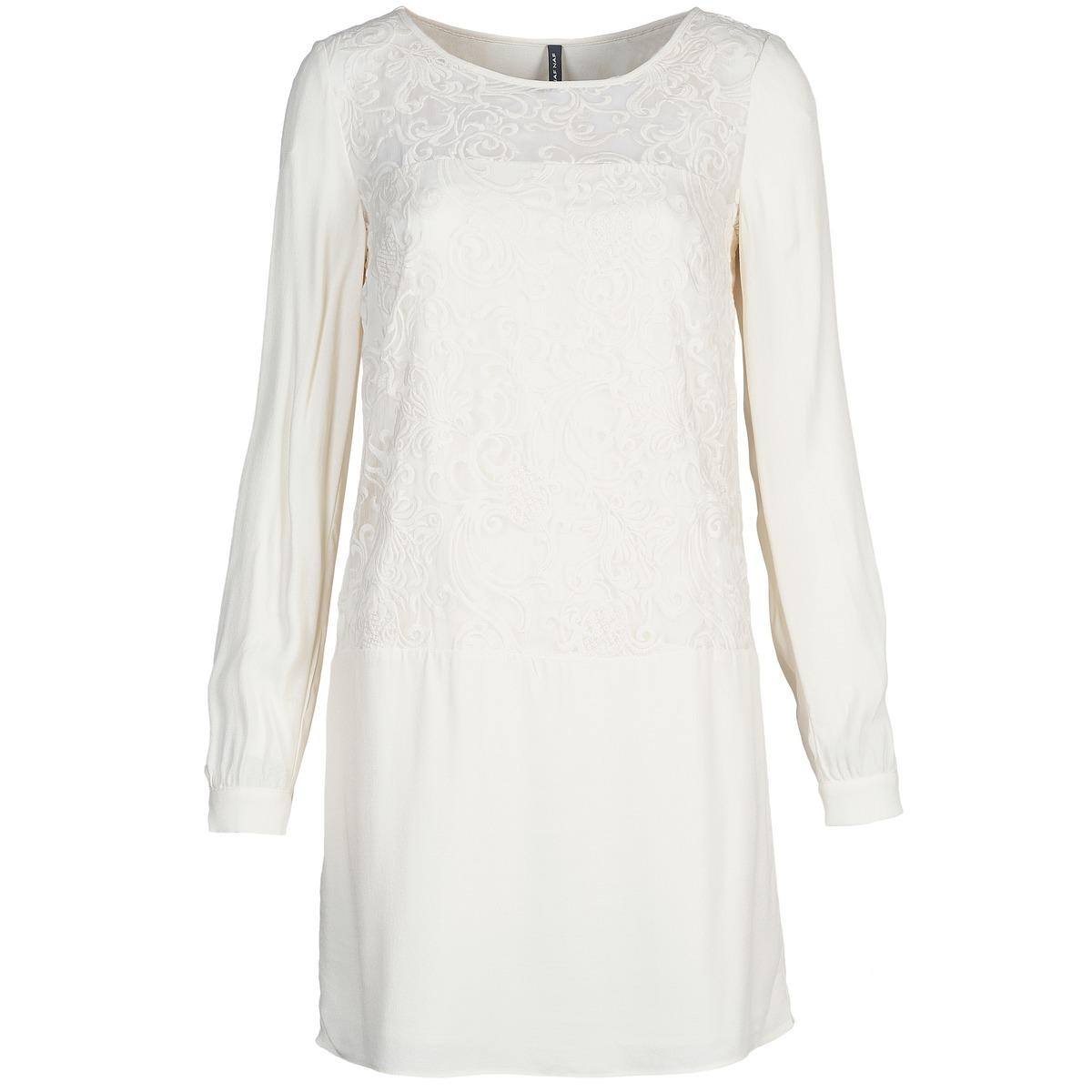 NAF NAF korte jurk lyno wit