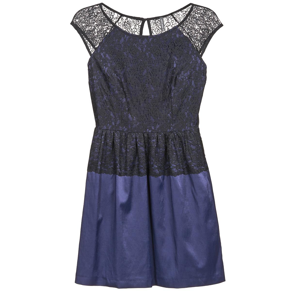NAF NAF korte jurk lylita blauw