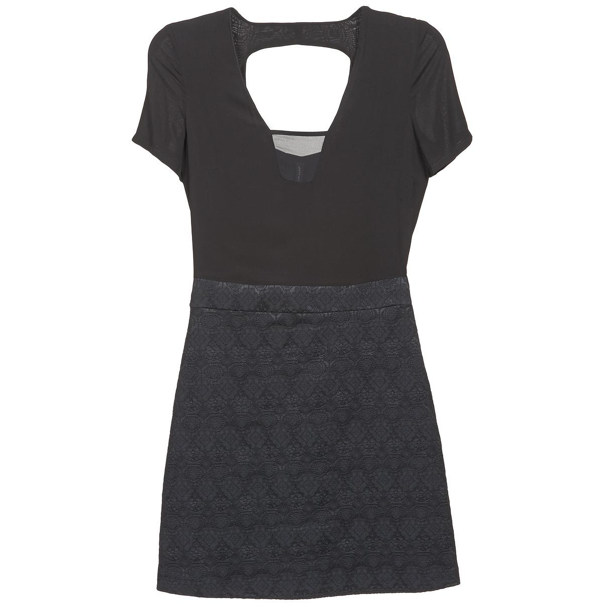 NAF NAF korte jurk eklati zwart