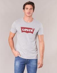 Textiel Heren T-shirts korte mouwen Levi's GRAPHIC SET-IN Grijs