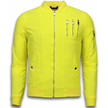 Textiel Heren Wind jackets Just Rebel Casual Bomber Jack Heren - 3 Chrome Zippers 4
