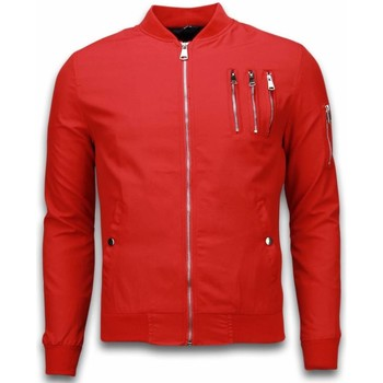 Textiel Heren Wind jackets Just Rebel Casual Bomber Jack Heren - 3 Chrome Zippers 8