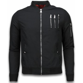 Textiel Heren Wind jackets Just Rebel Casual Bomber Jack Heren - 3 Chrome Zippers 38
