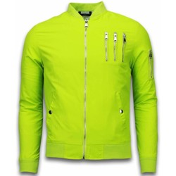 Textiel Heren Wind jackets Just Rebel Casual Bomber Jack Heren - 3 Chrome Zippers 25