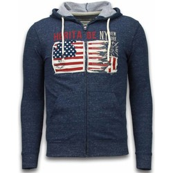 Textiel Heren Sweaters / Sweatshirts Enos Casual Vest - Embroidery American Heritage 19