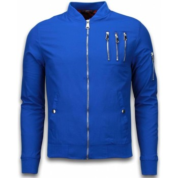 Textiel Heren Wind jackets Just Rebel Casual Bomber Jack Heren - 3 Chrome Zippers 19