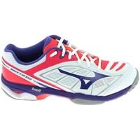 Schoenen Dames Lage sneakers Mizuno Wave Exceed CC Blanc Wit