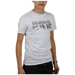 Textiel Kinderen T-shirts korte mouwen Napapijri