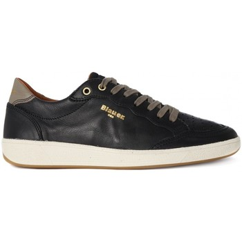 Schoenen Heren Lage sneakers Blauer RETRO LOW BLACK    156,4