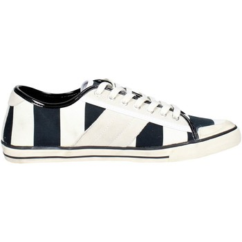 Schoenen Heren Lage sneakers Date TENDER LOW-106 White/Black
