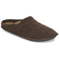 Schoenen Sloffen Crocs CLASSIC SLIPPER Bruin