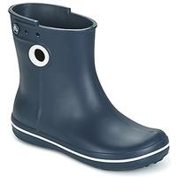Schoenen Dames Regenlaarzen Crocs JAUNT SHORTY BOOTS Marine