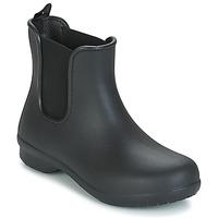 Schoenen Dames Laarzen Crocs CROCS FREESAIL CHELSEA Zwart