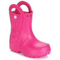 Schoenen Meisjes Regenlaarzen Crocs HANDLE IT RAIN BOOT Roze
