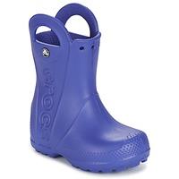 Schoenen Jongens Regenlaarzen Crocs HANDLE IT RAIN BOOT Blauw