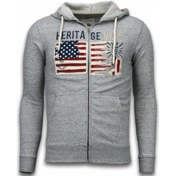 Textiel Heren Vesten / Cardigans Enos Casual Vest - Embroidery American Heritage 35