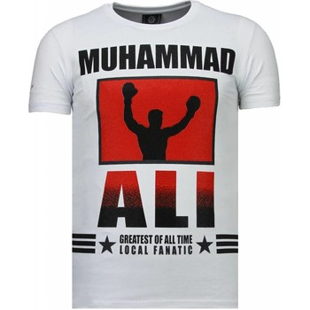 Textiel Heren T-shirts korte mouwen Local Fanatic Muhammad Ali - Rhinestone T-shirt 1