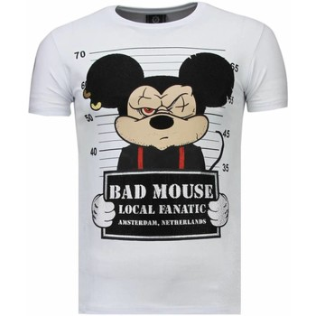 Textiel Heren T-shirts korte mouwen Local Fanatic State Prison - Rhinestone T-shirt 1