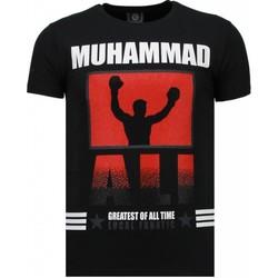 Textiel Heren T-shirts korte mouwen Local Fanatic Muhammad Ali - Rhinestone T-shirt 38