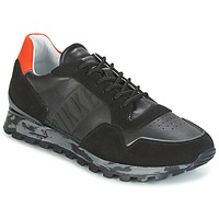 Schoenen Heren Lage sneakers Bikkembergs FEND-ER 946 Zwart / OranJe
