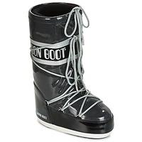 Schoenen Dames Snowboots Moon Boot MOON BOOT STARRY Zwart / Wit