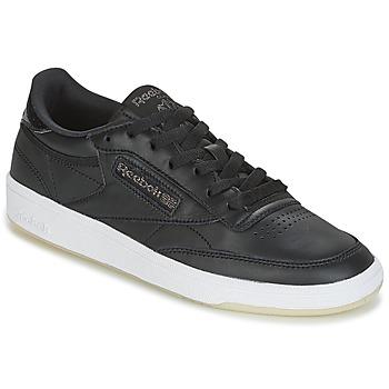 Schoenen Dames Lage sneakers Reebok Classic CLUB C 85 LTHR Zwart