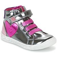 Schoenen Meisjes Hoge sneakers Agatha Ruiz de la Prada FLOW Zilver